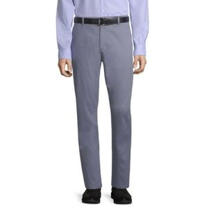 Claiborne Easy-care gray men's dress pants NWT